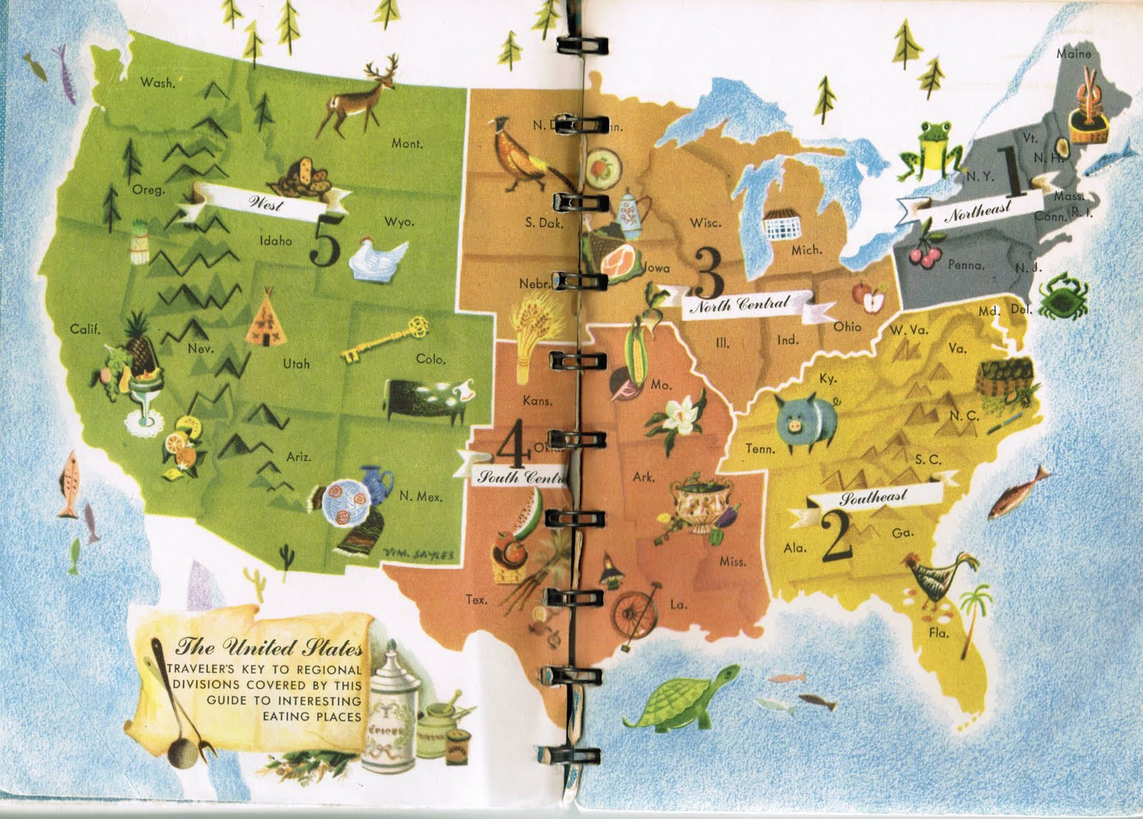 Map Usa Famous Place Picture Ideas References