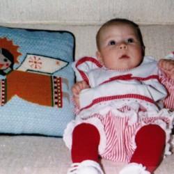Kristina+1st+Christmas1