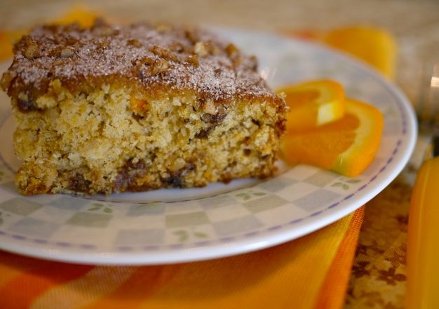 Orange Kiss-Me Cake Recipe — Dishmaps