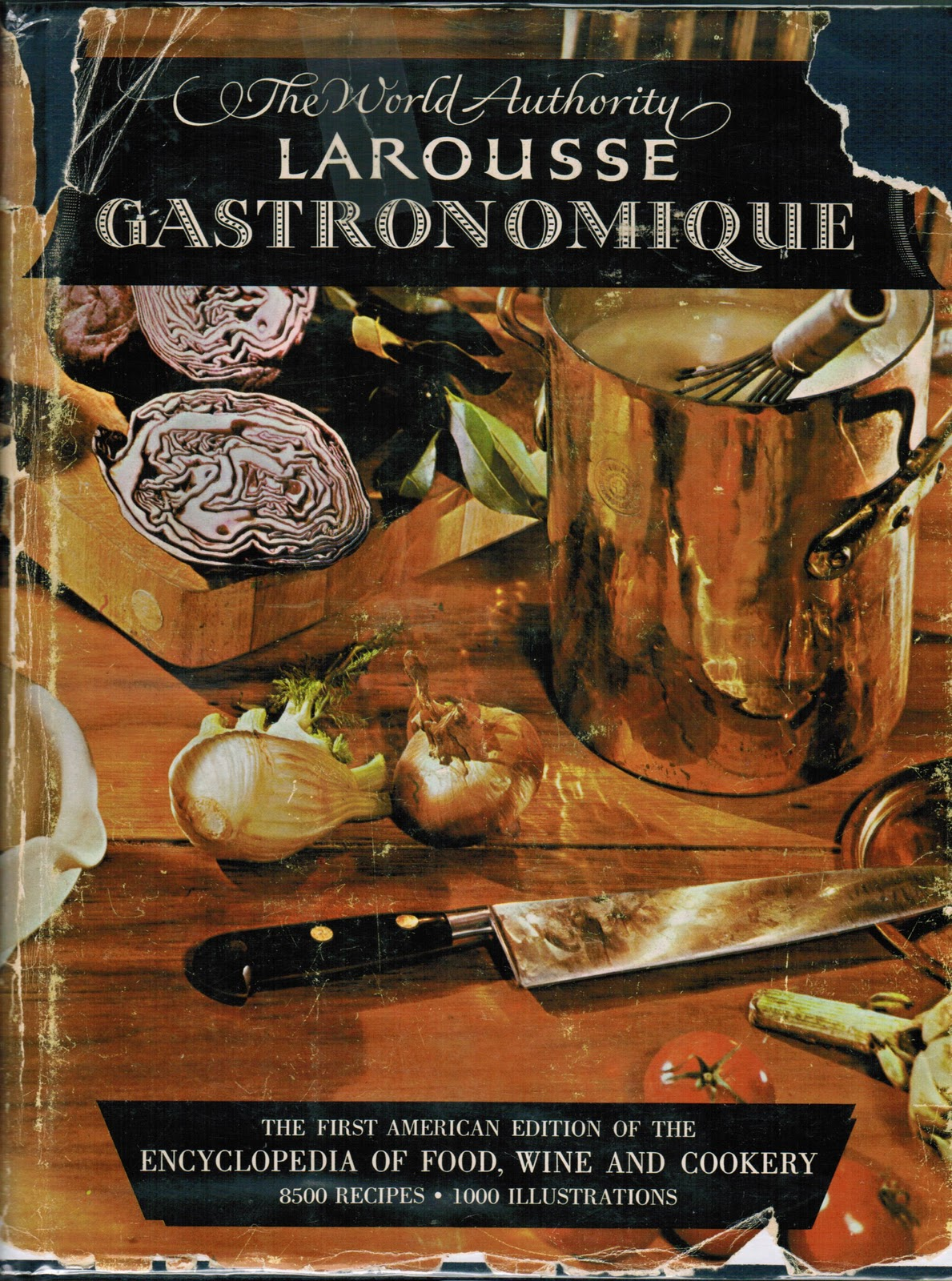 larousse gastronomique the first american edition the culinary cellar. Black Bedroom Furniture Sets. Home Design Ideas