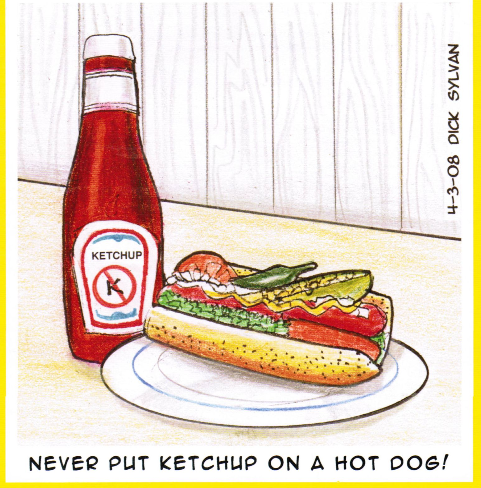 Chicago Hot Dog Ketchup Law