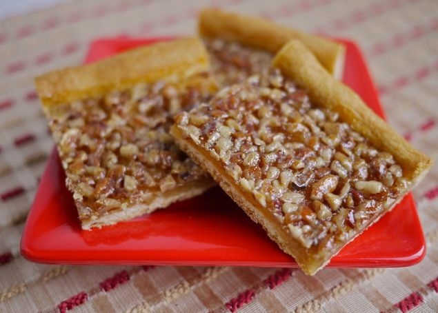 ... Crunch Cake and Quick Crescent Pecan Pie Bars - The Culinary Cellar
