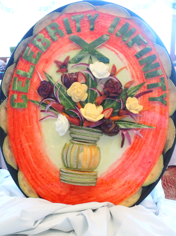 Ship th of july brunch watermelon carving celebrity infinity