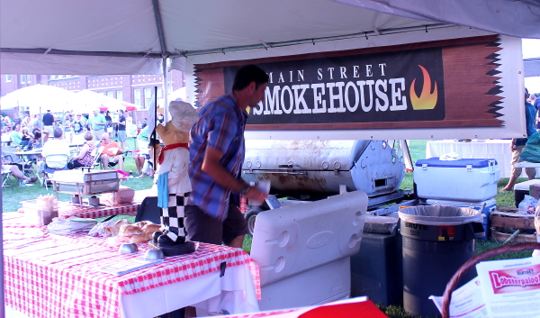 ... idea because sometimes the vendors will run out of food quickly as was the case for Bill. He was looking forward to some barbecue from the Main Street ... & Our Very Own Food and Wine Festival - The Culinary Cellar