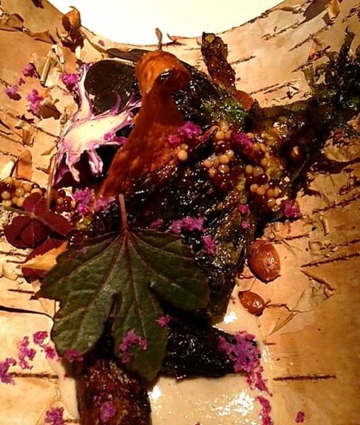 Next Fallen Leaves close up