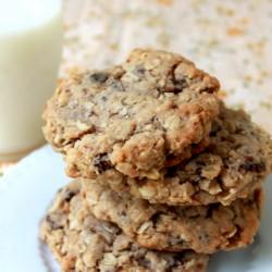 Aunt Ann Oatmeal Cookies 1