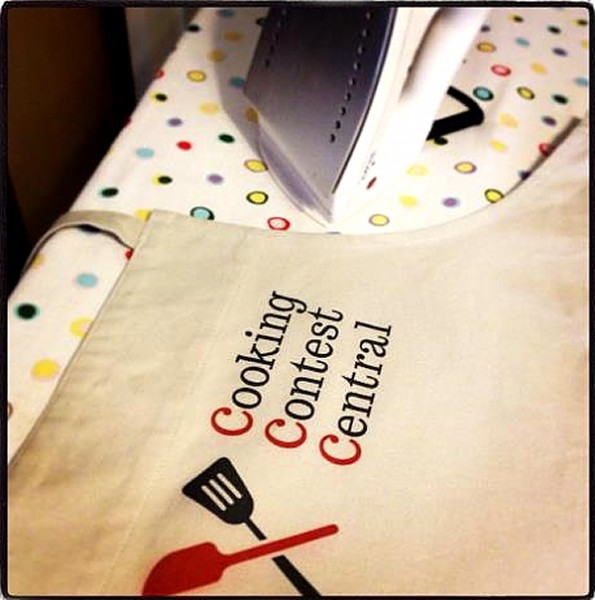 Home and Family CCC apron for show