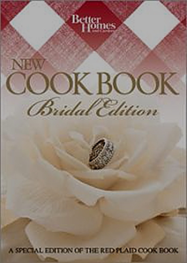Better Homes And Gardens Bridal Edition Cookbook