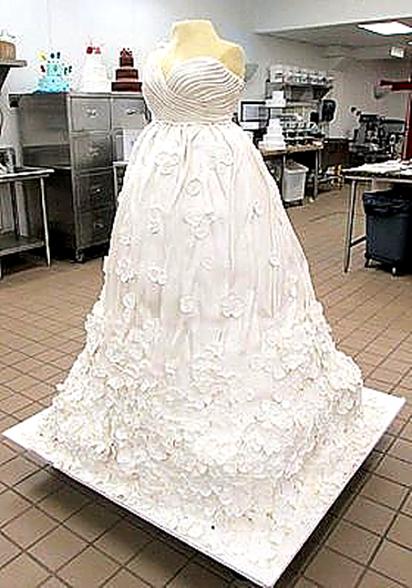 Cake Boss Wedding Dress Giant