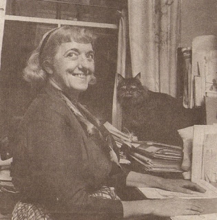 Clementine Paddleford old photo with cat
