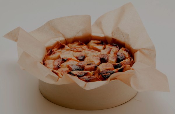 Shortbread apple tart