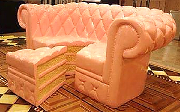 Cupcake Couch
