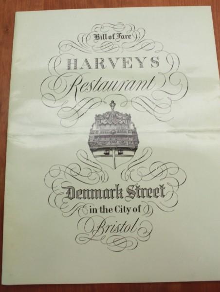 Clem England Harvey's Restaurant in Bristol