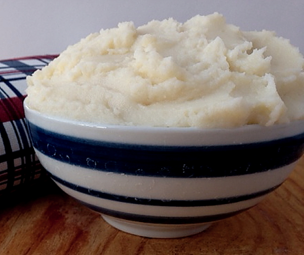 Doughnut mashed potatoes 3
