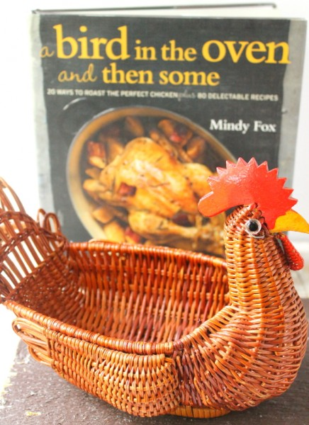 Roast chicken cookbook cover