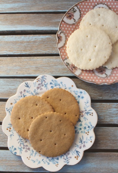 Ginger and Shortbread Cookies