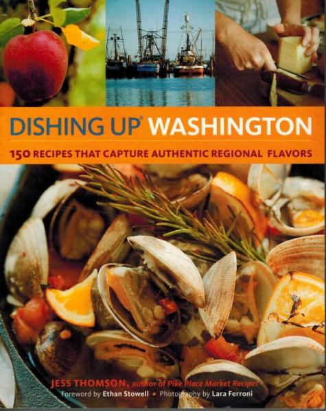 Dishing Up Washington cover