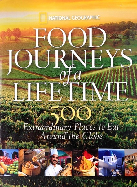Food Journeys of a Lifetime book cover