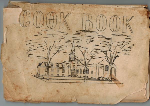 Church cookbook from Elmhurst