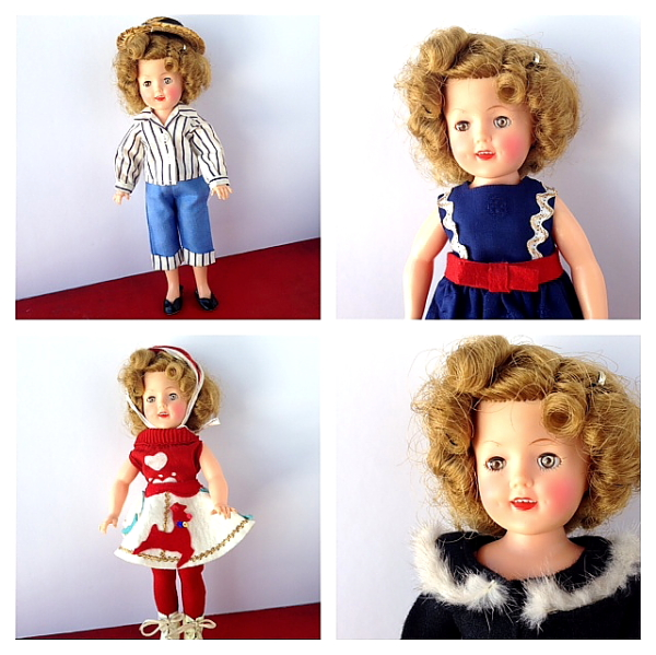 Shirley Temple 1 set of 4