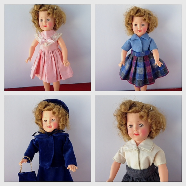 Shirley Temple 2 set of 4