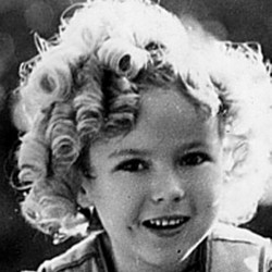 Shirley Temple stock photo
