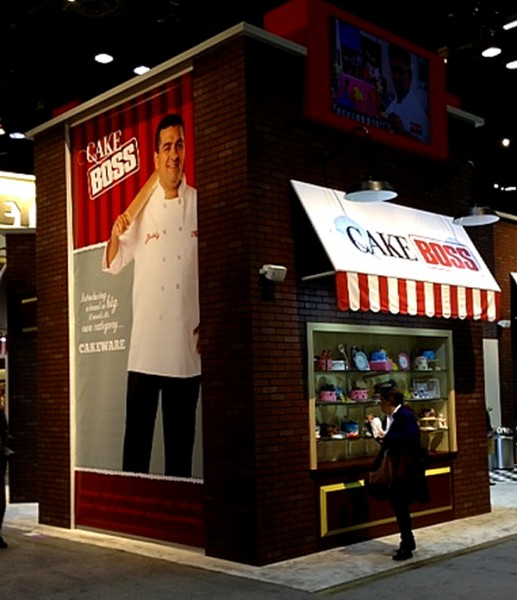 Cake Boss 2013 booth front