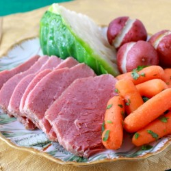 Corned Beef and Cabbage without sauce