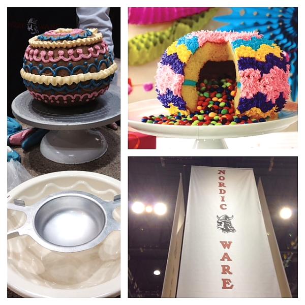 Home Show 2014 Nordic ware pinata cake trio photo