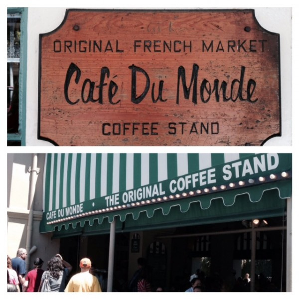 Wedding Cafe Du Monde duo