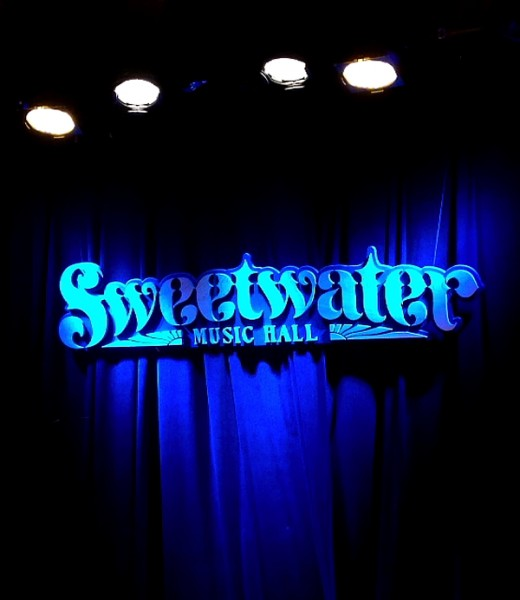 Mill Valley Sweetwater music hall sign