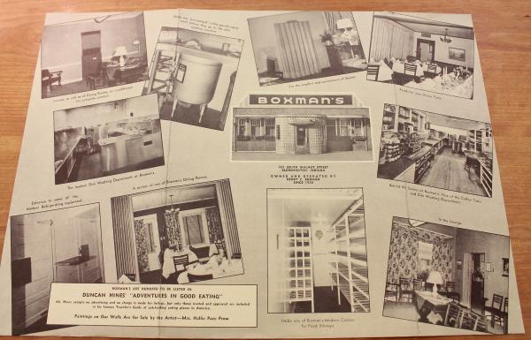 Clem Bloomington Boxman's menu photos