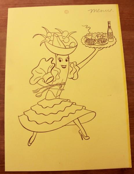 Clem Chaquita banana menu cover
