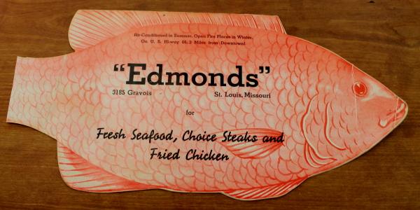 Clem Missouri Edmonds menu cover
