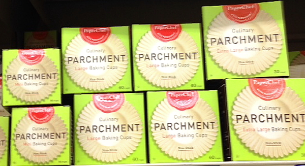 Woodman's parchment cups
