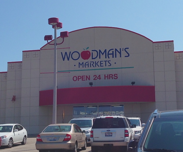 Woodman's store front
