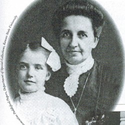 Clem childhood photo with mother