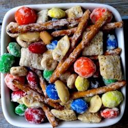 Lunchbox munch in bowl