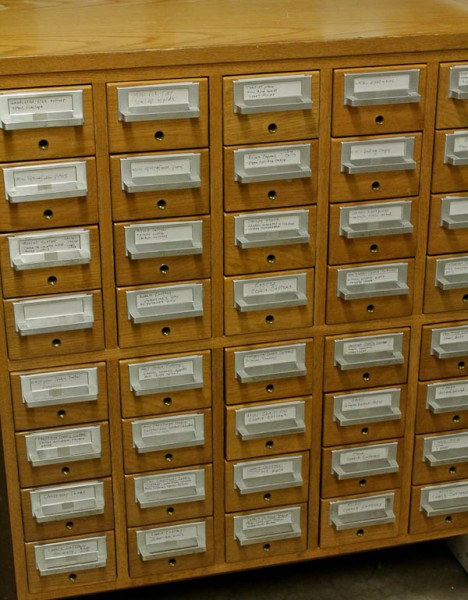 card catalog closed 2