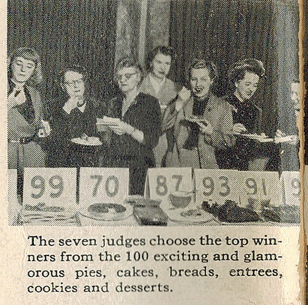 Clem Bake-Off #3 with other judges
