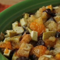 Fruit Stuffing green bowl