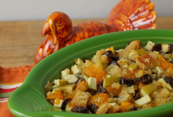 Fruit Stuffing with turkey