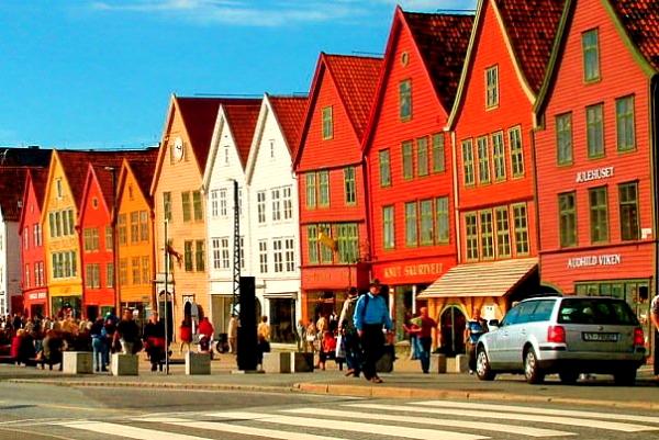 Norway Bergen street