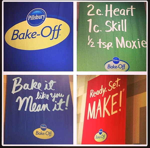 PBO 46 Bake-Off sign collage 3