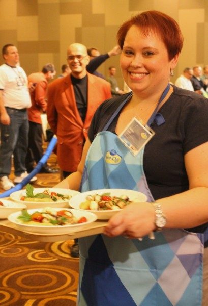 PBO 46 Nadine Clark carrying in final entry to judges