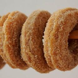 Pumpkin Donuts close up