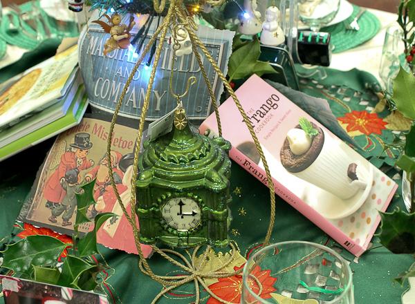 Advent tea Field's centerpiece