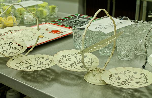 Advent tea empty trays