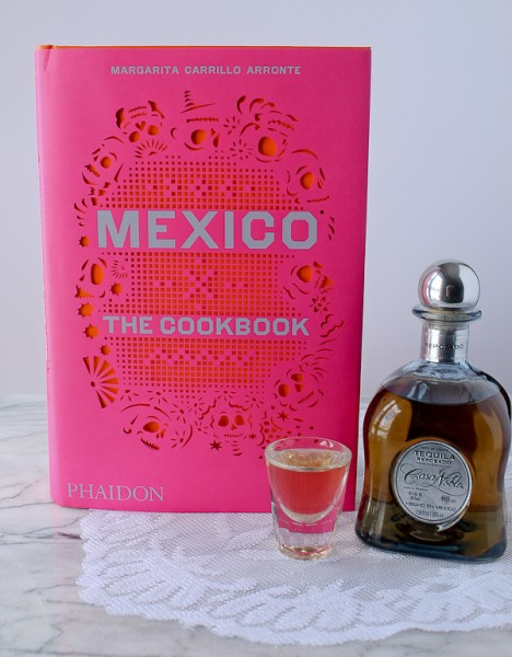 Mexico cover with tequila