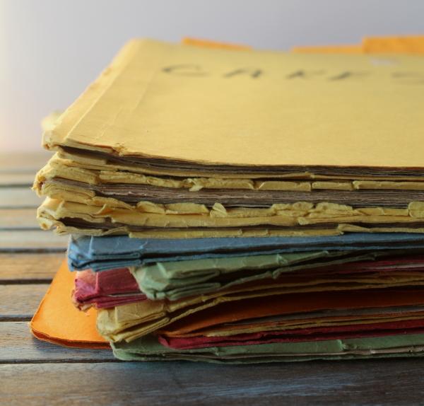 Old recipe folders